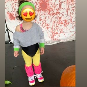 Other - 80s dancer baby costume